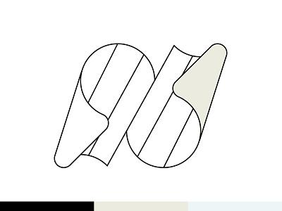 Notes illustrator logo logo design lettering typography monogram branding modern logo logomark line art