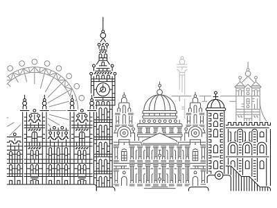 London logos london underground london bridge london eye london line art illustration illustrator minimal tattoo tattoo art minimal art fine liner vector tattoo artist tattoo design landscape landscape design landscape architecture landscape illustration