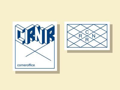 Corneroffice logo design logotype logodesign minimal coffee concept typography lettering line art illustrator logomark logo branding vector