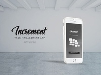 Increment Task Management Application