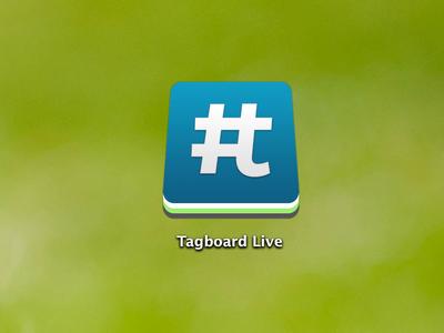 Tagboard Live tagboard icon app