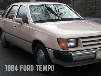 1984 Tempo ford tempo 1984 rustbucket