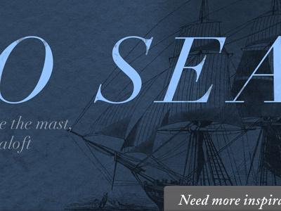 Out To Sea mobydick yohoho didot fonts.com