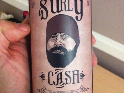 Finished Product bottle beer surlycash @ccashdollar