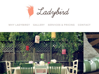 Ladybird Responsive Layout ladybird responsive slideshow typekit proxima nova
