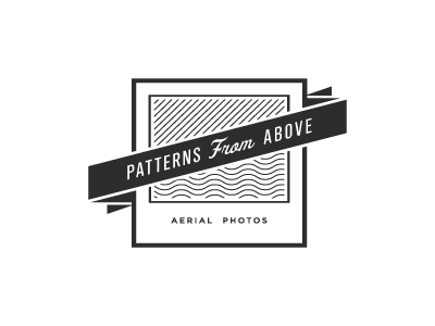 Patterns from Above logo bw icon