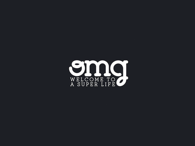 OMG welcome to a super life life welcome super food venezuela logodesign logo branding brand
