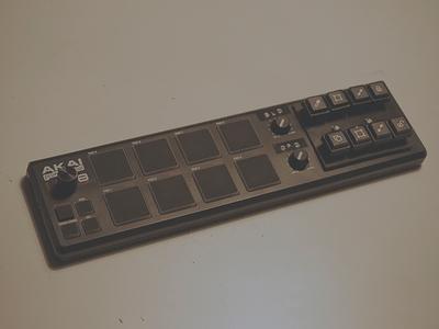 Modded Akai LPD-8 for Adobe Illustrator controller shortcut illustrator tool graphics vector hacking electronics engineering device hardware modding