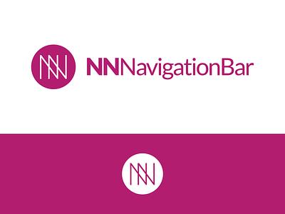 NNNavigationBar Logo Design nnnavigationbar bar navigation bar navigation identity illustration vector utopian logo icon graphics graphic design contributor contribution branding app