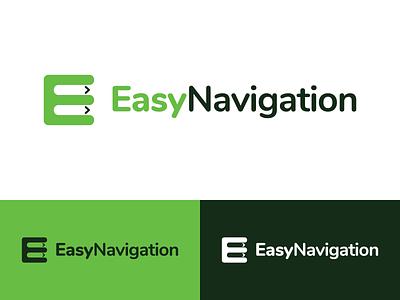 EasyNavigation Logo Design easynavigation navigation identity illustration vector utopian logo icon graphics graphic design contributor contribution branding app