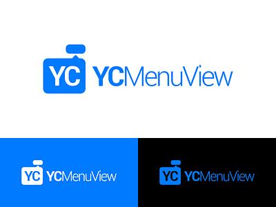 YCMenuView Logo Design ycmenuview menuview menu identity illustration vector utopian logo icon graphics graphic design contributor contribution branding app
