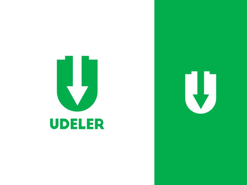 Udeler (Udemy Downloader) Logo Design introduce debut first shot dribbble hello graphics graphic open source contributor contribution utopian udemy udeler identity app branding vector design icon logo