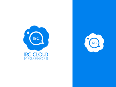 IRC Cloud Messenger Logo Design