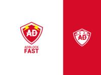 Adblock Fast Logo Design