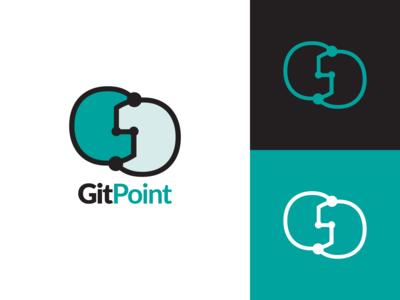 Git Point Logo Design