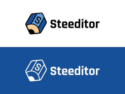 Steeditor Logo Design