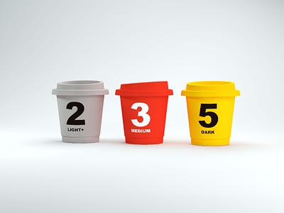 Render practice of Saturnbird Coffee render coffee 3d c4d
