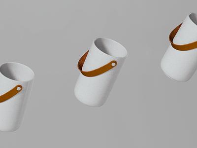 Stelton ice bucket 3d render