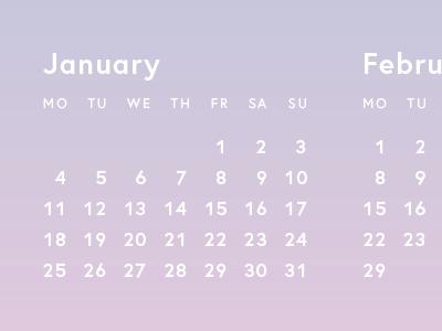 2016 typography