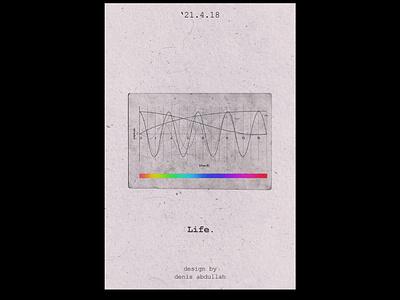 Life Poster plakat poster design poster visual art