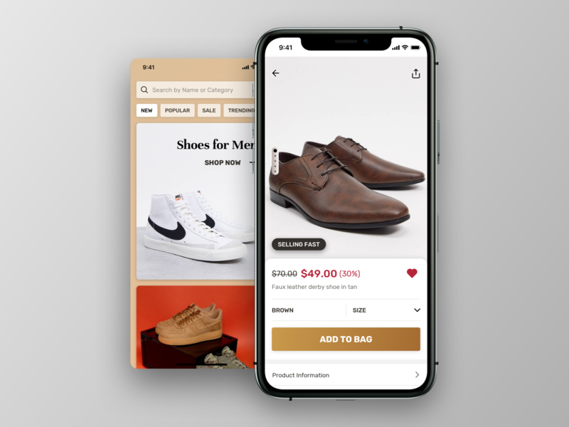 E-commerce UI WIP typography ui design shop marketplace mobile app mobile ui ecommerce
