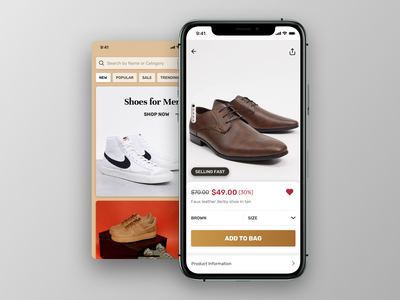 E-commerce UI WIP typography ui design shop marketplace mobile app mobile ui ecommerce