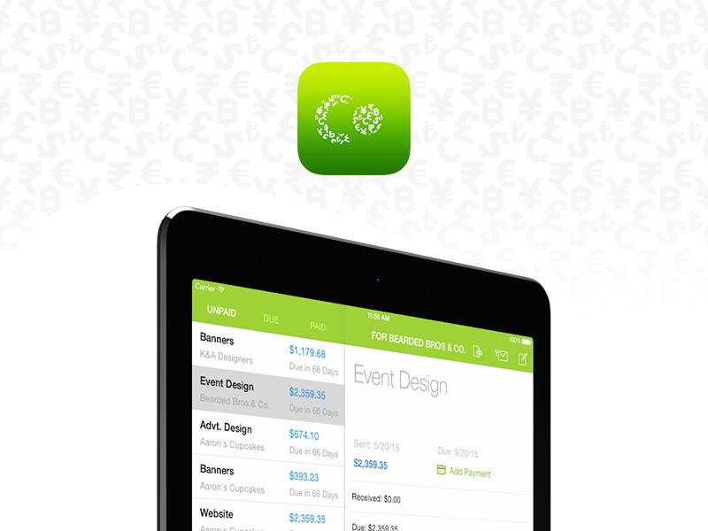 Esfresco for iPad cloud fast new ios invoicing ipad esfresco