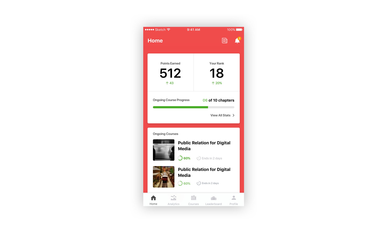 Training app full