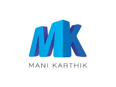 Mani Karthik Logo by Kaushik V. Panchal - Dribbble