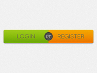 Login or Register Button