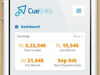 Cuelinks Mobile Website