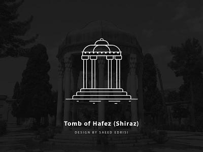 Tomb Of Hafez persian tehran graphic  design saeed edrisi vector minimal iran vector tomb of hafez tomb hafez hafez shiraz