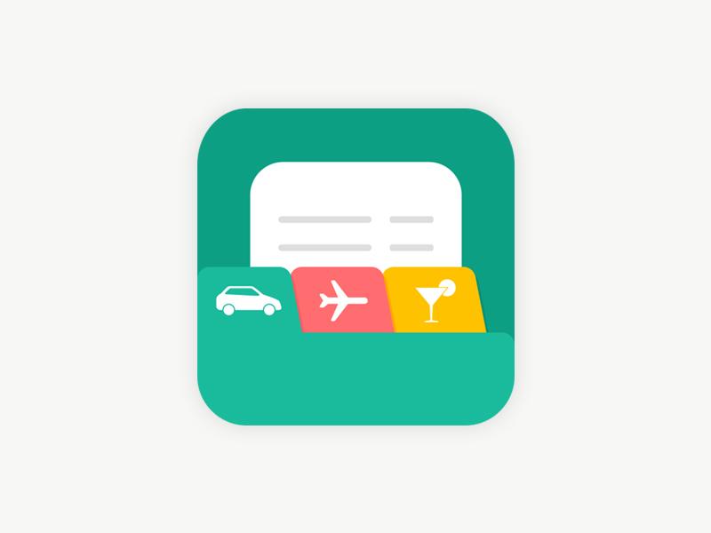 Expense App Icon kreativekarry karry expensereports expensesoftware ios appicon expense