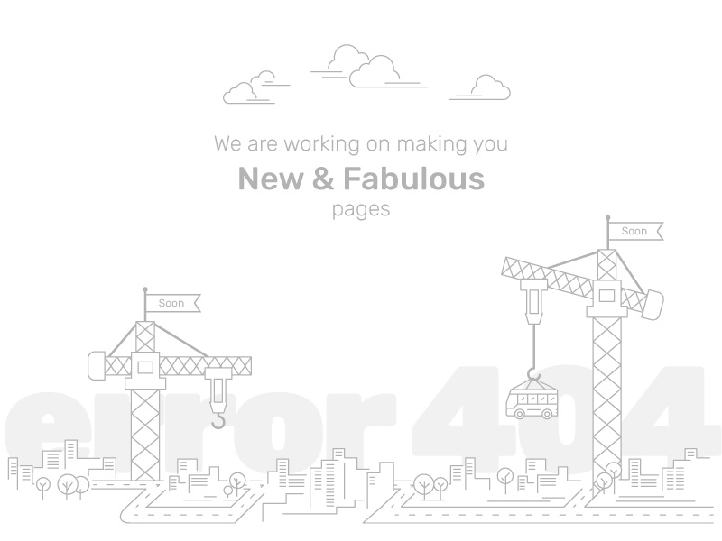 404 error page deisgn example #8: 404 page