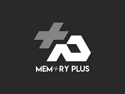 Memory Plus logo shop branding illustration logotype logodesign logo design graphic design graphicdesign graphic