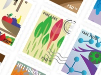 Modern Indian Stamps