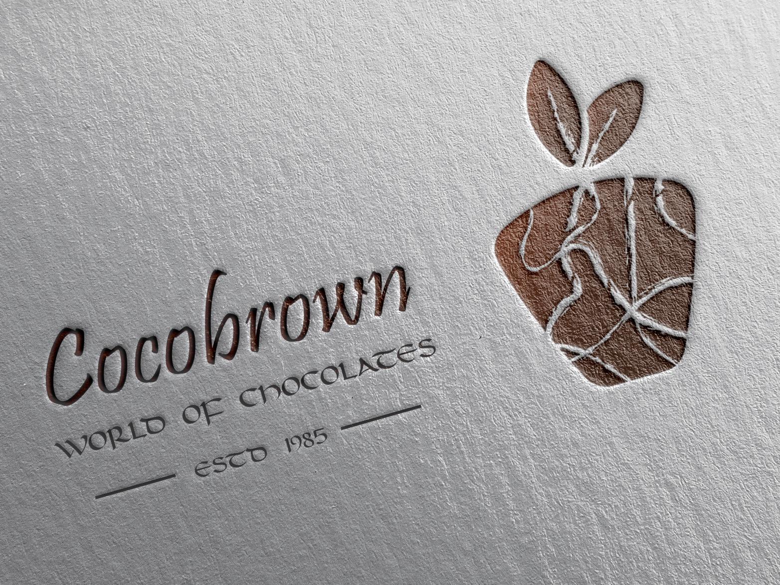 Chocolate Cakes | Logo Design chocolate cake vector ui logo plain photoshop illustration color design adobe illustrator