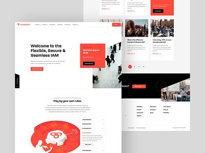 Overview - TrustBuilder trustbuilder design news website footer homepage font interface ui ux sketch dennis snellenberg nordhaven typography