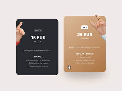 Packs - welovedaily.com ux ui rotterdam euro welove product gradient bounce interaction interface website hover dennis snellenberg principle hands 3d animation pack welovedaily