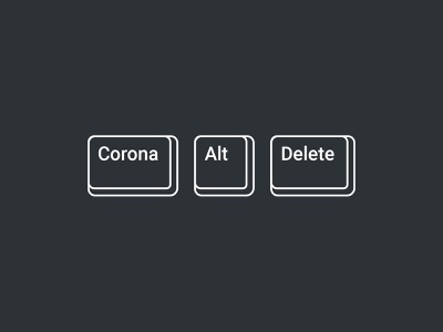 Corona + Alt + Delete dad virus problem fixed covid-19 keyboard button delete alt corona