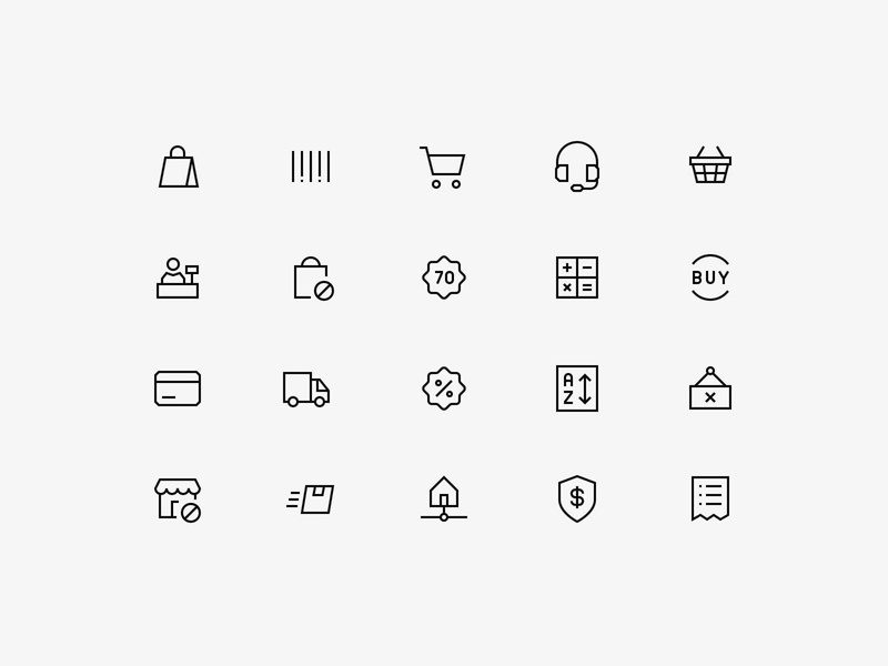 Angular Icons - Shopping Pack icon pack ecommerce icons iconset grid 24px line svg shopping icons ecommerce icons pack netherlands dennis snellenberg icons download free