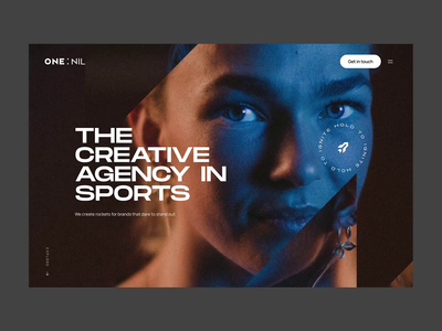 LIVE - One:Nil animation rocket dennis snellenberg parallax stagger interaction barbajs sport creative agency amsterdam rotterdam onenil