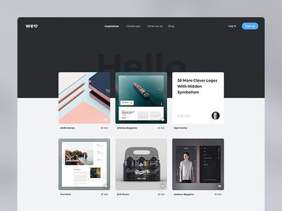 Website Design WIP