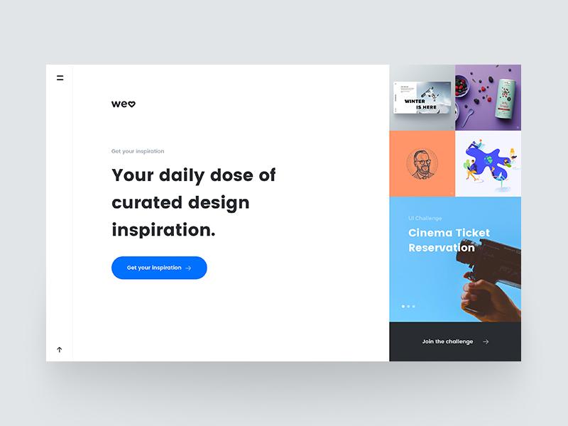 Welove homepage v2