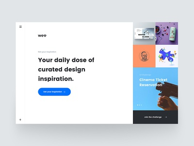 Landing page - welovedaily.com
