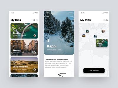 My trips (iOS)