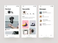Social App (iOS)