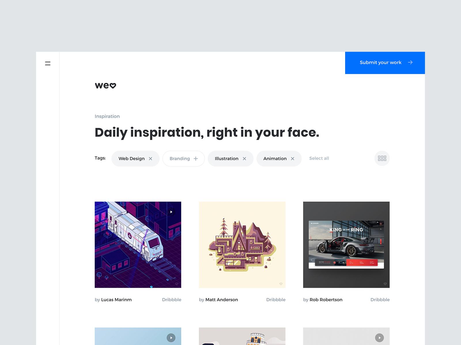 Welove homepage v2 2