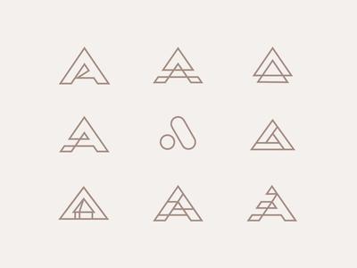 Unused Logo's (Andrew Nicolas)