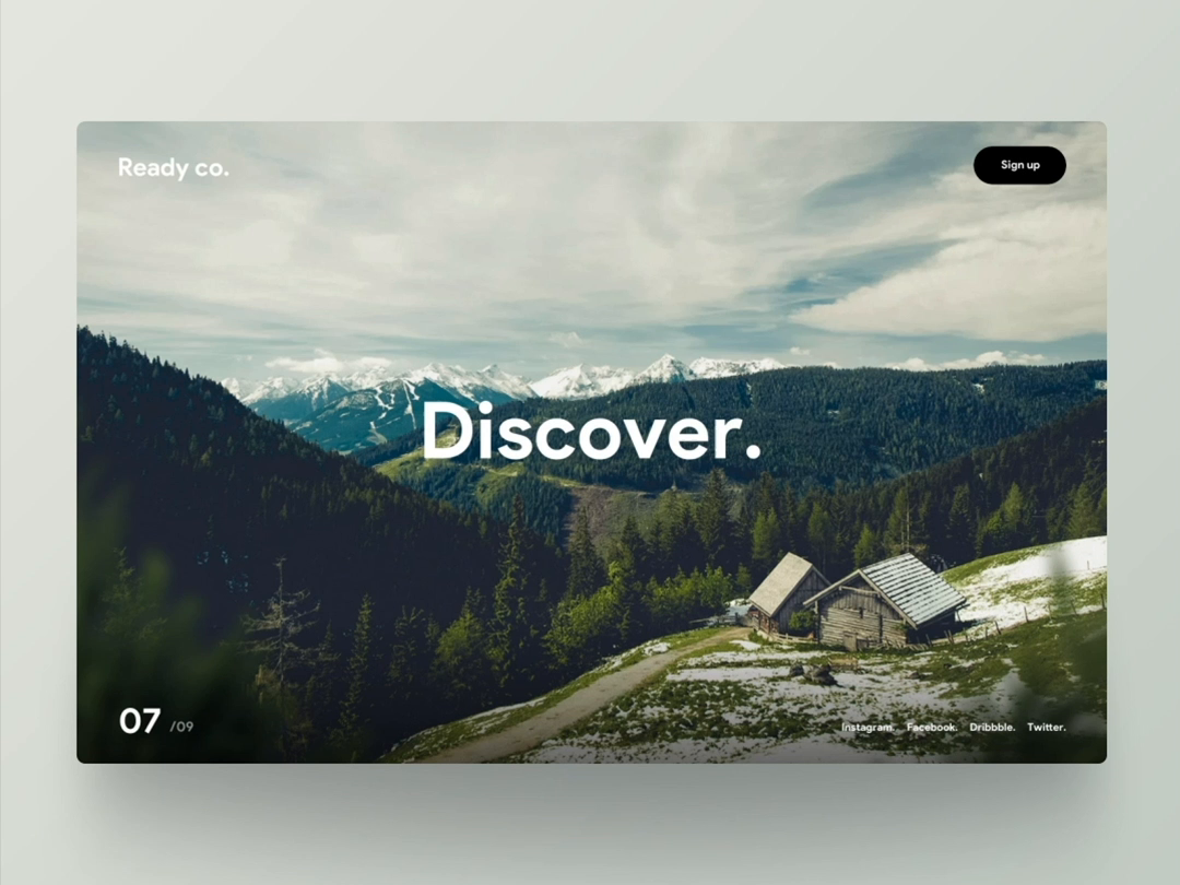 Discover dribbble